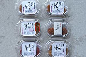 深見梅店完熟南高梅食べ比べセット(6種類) の説明画像