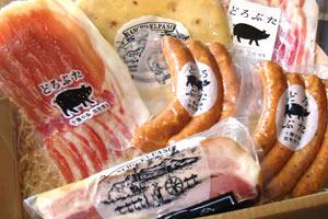 十勝放牧豚「どろぶた」贅沢セット の説明画像