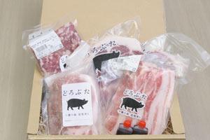 十勝放牧豚「どろぶた」味わいセット の説明画像