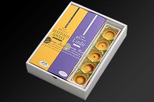 『唐芋菓子専門店 フェスティバロ』唐芋レアケーキ(ラブリー、リンド) の説明画像