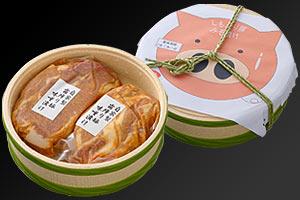 勝俣州和さんオススメ!『山崎精肉店』霜降り豚 味噌漬け の説明画像